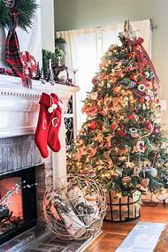 farmhouse christmas decorating ideas - Farmhouse Christmas Decorating Ideas
