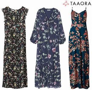 Robe Tendance Ete 2017 : robes longues fleurs tendance t 2017 taaora blog mode tendances looks ~ Melissatoandfro.com Idées de Décoration