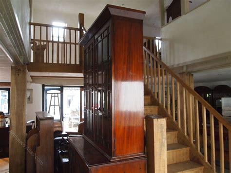 cloverleaf home interiors bookcase george iii mahogany glazed c1800 antiques