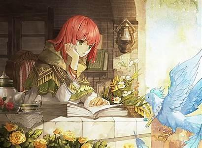 Shirayuki Snow Hair Anime Background Wallpapers