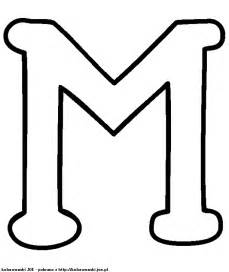 Printable Letter M Coloring Page