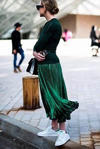 Farben Kombinieren Kleidung : fashion inspiration ein outfit komplett in gr n gr ne farben kombinieren gr ner midi rock ~ Orissabook.com Haus und Dekorationen
