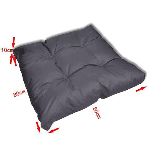 cuscini 80x80 articoli per cuscino imbottito per la sedia 80 x 80 x 10