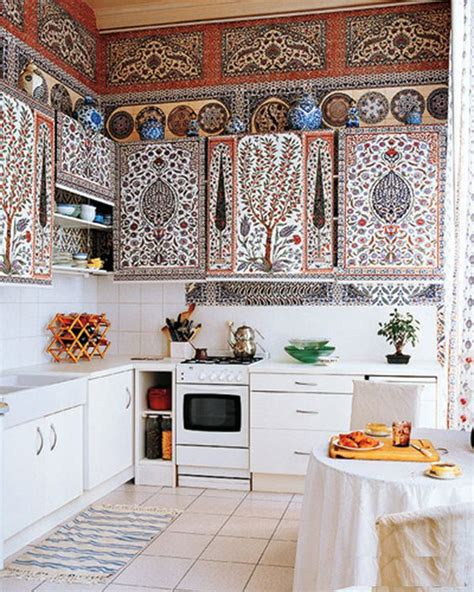 bohemian kitchen design 13 ideas from anything but subtle kitchens home 1756