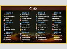 Calendario Europa League 20172018 Fixture completo