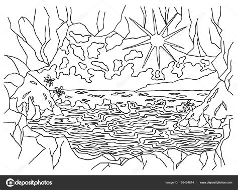 disegni da colorare onde mare 10 disegni di onde mare da colorare migliori pagine