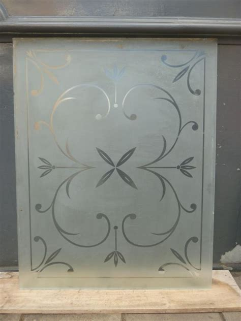 victorian etched glass images  pinterest glass