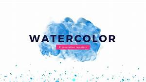 watercolor google slides theme free google presentation With google slide thems