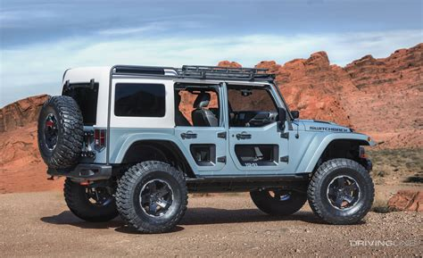 Future Jeep Vehicles by Unveiled 2017 Jeep Concept Vehicles Drivingline