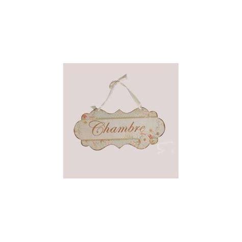 deco chambre de charme décoration de charme plaque de porte chambre ambiance cosy