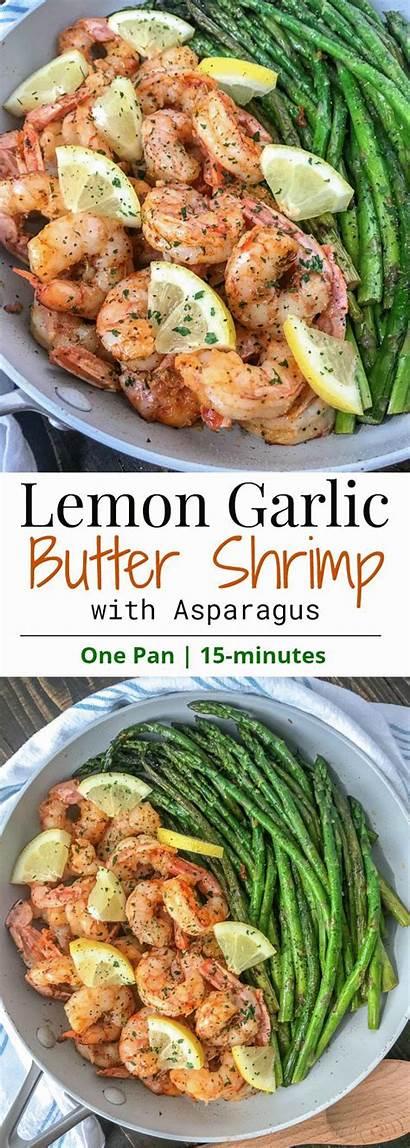 Lemon Shrimp Garlic Butter Healthy Asparagus Recipes