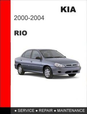 car repair manual download 2012 kia rio spare parts catalogs 2000 2004 kia rio factory service repair manual download manuals
