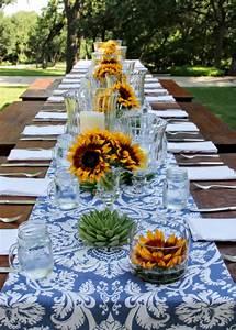 Tischdeko Mit Sonnenblumen : organisieren sie ihre ganz spezielle gartenparty im sommer ~ Lizthompson.info Haus und Dekorationen