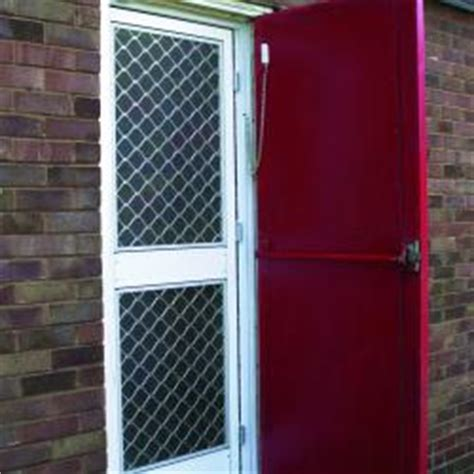 heavy duty lockable doors midge flyscreen