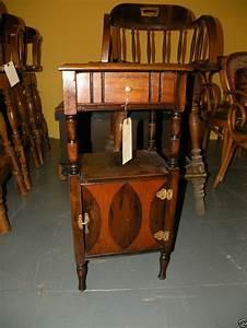 Antique Tobacciana Wooden Smoke Stand Humidor Walnut