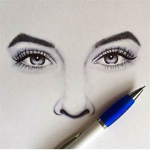 Eyes And Nose Drawing At Getdrawings