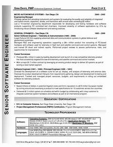 resume samples With professional software engineer resume
