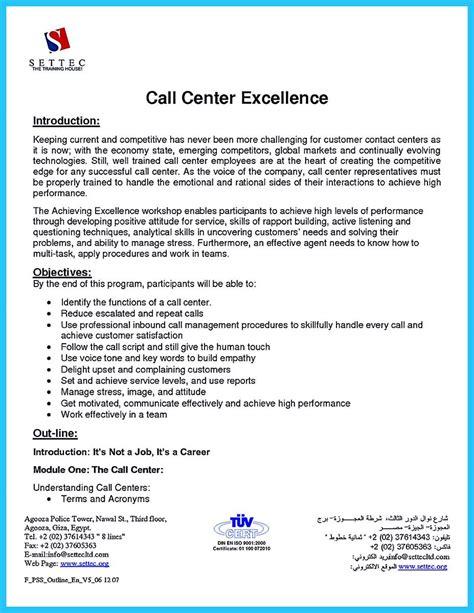 awesome create charming call center supervisor resume
