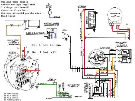 72 Chevelle Alternator Wiring Diagram by 69 Chevelle Wiring Diagram Wiring Diagram