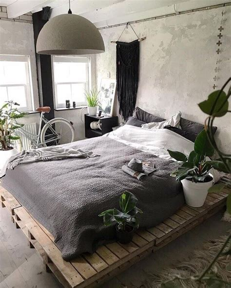 grey blanket bed  slats   cheap bedroom