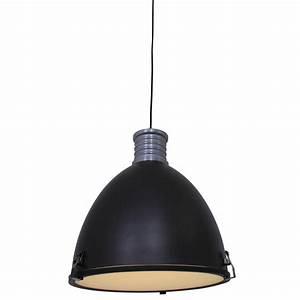 Suspension Industrielle Noire : suspension industrielle noir elena 37 5 cm lampe industrielle ~ Teatrodelosmanantiales.com Idées de Décoration