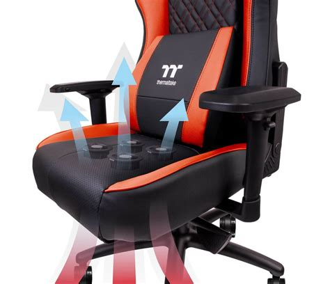 toilet seat thermaltake 39 s gaming chair cools your with four