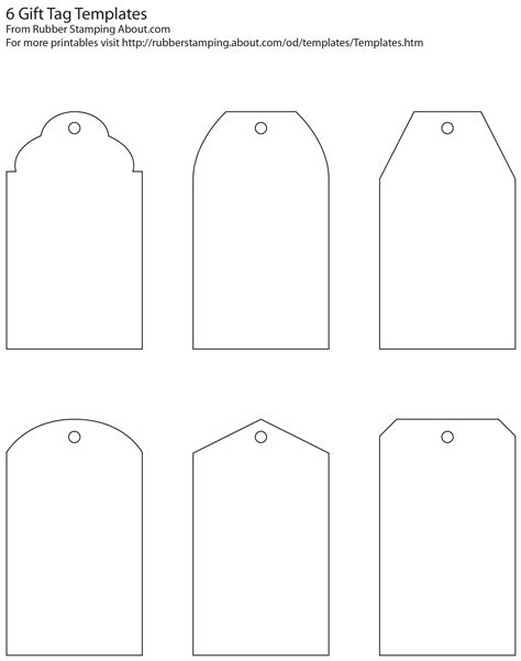 Tag Template Make Your Own Custom Gift Tags With These Free Printable