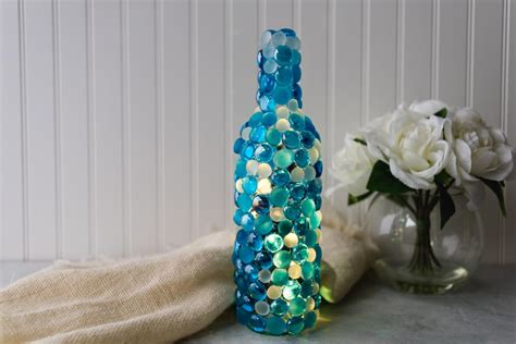 Twinkling Lights Wine Bottle Craft