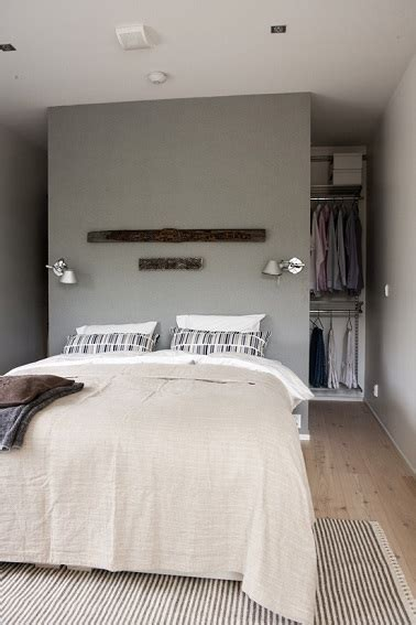 Pan De Mur Gris by D 233 Co Chambre Parquet Clair