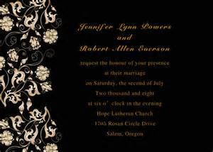 printable vintage flowers black wedding invites for garden weddings ewi111 as low as 0 94 - Cheap Wedding Flowers