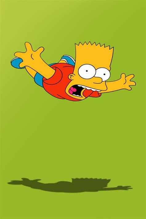 HD iPhone Wallpapers Free: Bart Simpson Skateboarding Free