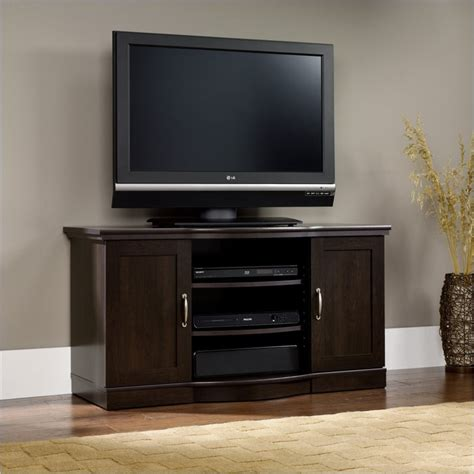 Credenza Tv Stand by Select Tv Stand Credenza In Cinnamon Cherry 410176