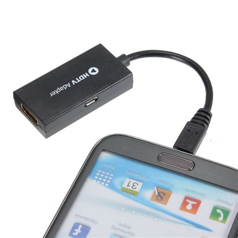 micro usb to hdmi hd tv adapter cable for samsung phones