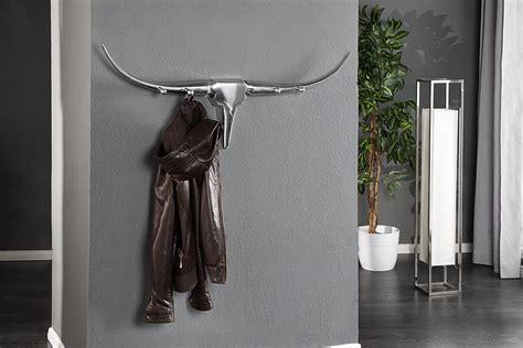 design garderobe bull cm aluminium wanddekoration
