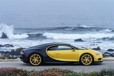 The other story that we have to remind you about this car is that one of the dear colleagues, share your expectations when this electric car stands in front of the bugatti chiron, how will the result ??? In Pictures: First USA Bugatti CHIRON Delivered! » CAR ...