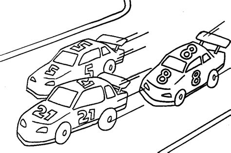 Car Coloring Pages Best Coloring Pages For Kids Race