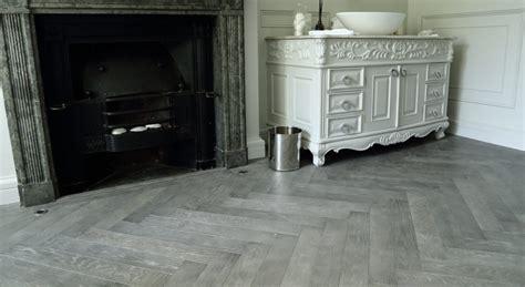 cloudy grey oak herringbone flooring hicraft
