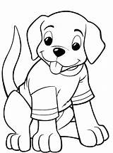 Coloring Pages Puppy Printable Cute Easy Dog Bone Getcolorings Boyama Dogs Puppies Print Puppys Colorings Animal Cat Chakiradecor Loeydae sketch template