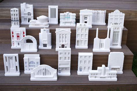miniature architectural models  chisel mouse