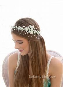 Beaded Wedding Hair Band | Fade Haircut