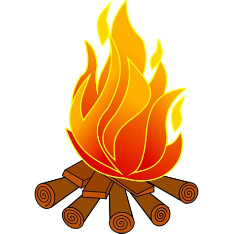 wood burning pit cfire clipart panda free clipart images