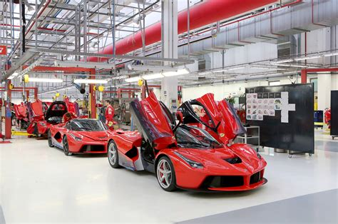 ferrari factory ferrari laferrari factory photo 117