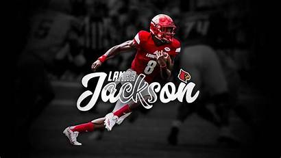 Lamar Jackson Ravens Baltimore Wallpapers Helmet Sports