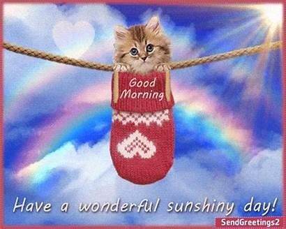 Morning Sunshiny Wonderful Quotes Wishes Greetings Nice
