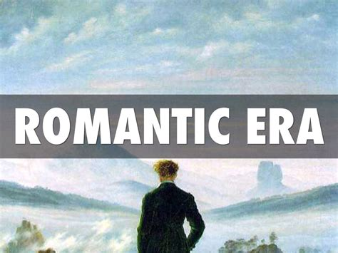 Romantic Era By Julie Mccullough
