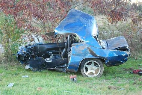 Man Dies After Crashing '70 Plymouth 'cuda Into Telephone