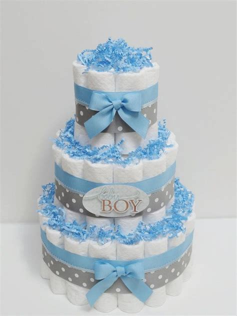 Cheap Baby Shower Ideas For Boys by Best 20 Diaper Cakes For Boys Ideas On Pinterest Diy