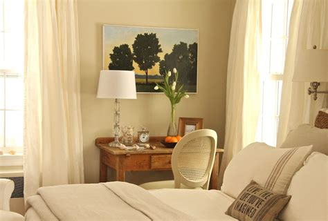 serene guest room