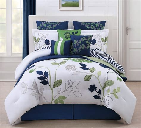 blue and green bedding - Green Blue Comforter Sets