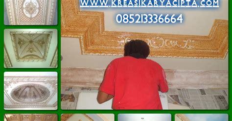 galeri foto cat motif lis plafon gypsum kreasi karya cipta